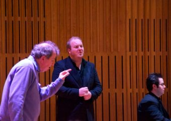 Former Opera North Head of Music, Jim Holmes, delivers a masterclass for students
